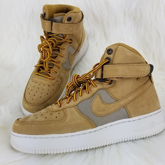 NEW NIKE AIR FORCE 1 HIGH PRM (GS) Sneakers Shoes NWT